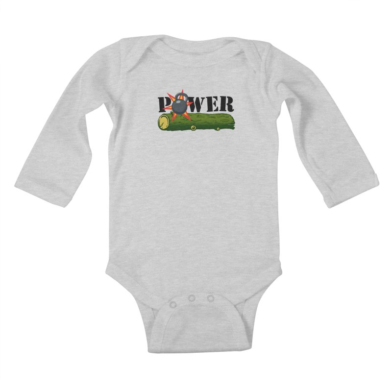 Power Kids Baby Longsleeve Bodysuit by Power Artist Shop