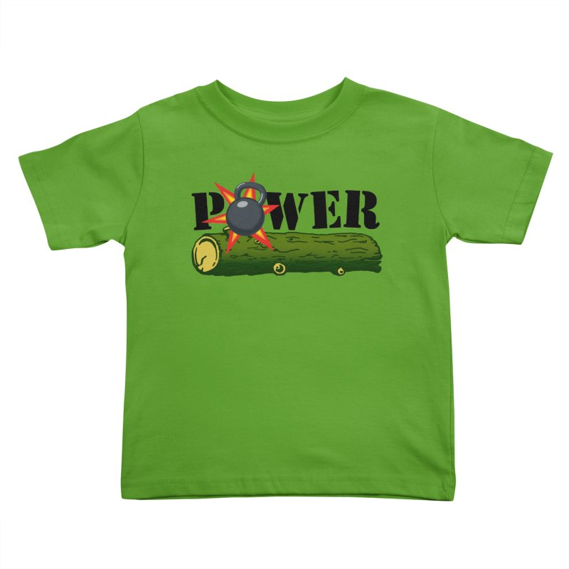 Power Kids Toddler T-Shirt by Power Artist Shop