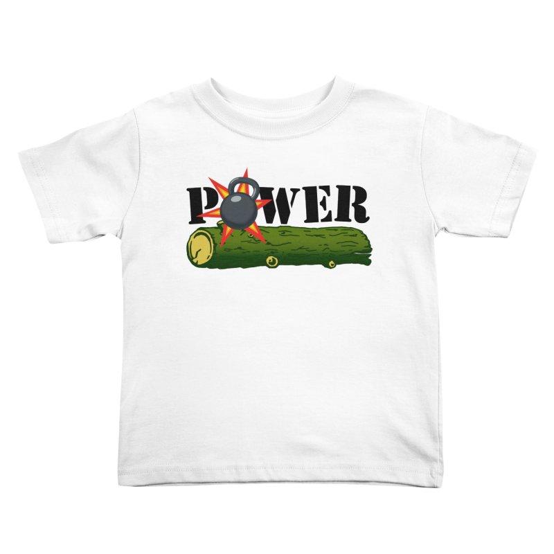 Power Kids Toddler T-Shirt by Power Artist Shop