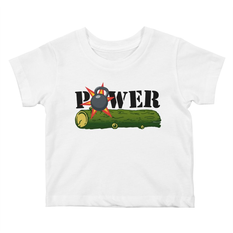 Power Kids Baby T-Shirt by Power Artist Shop