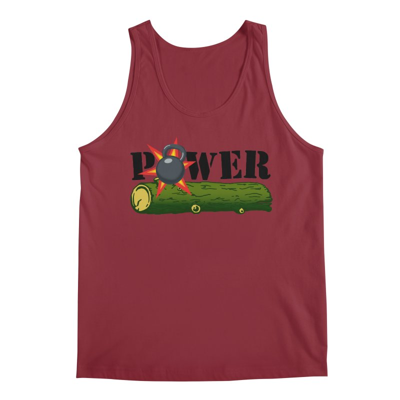 Power Men's Tank by Power Artist Shop