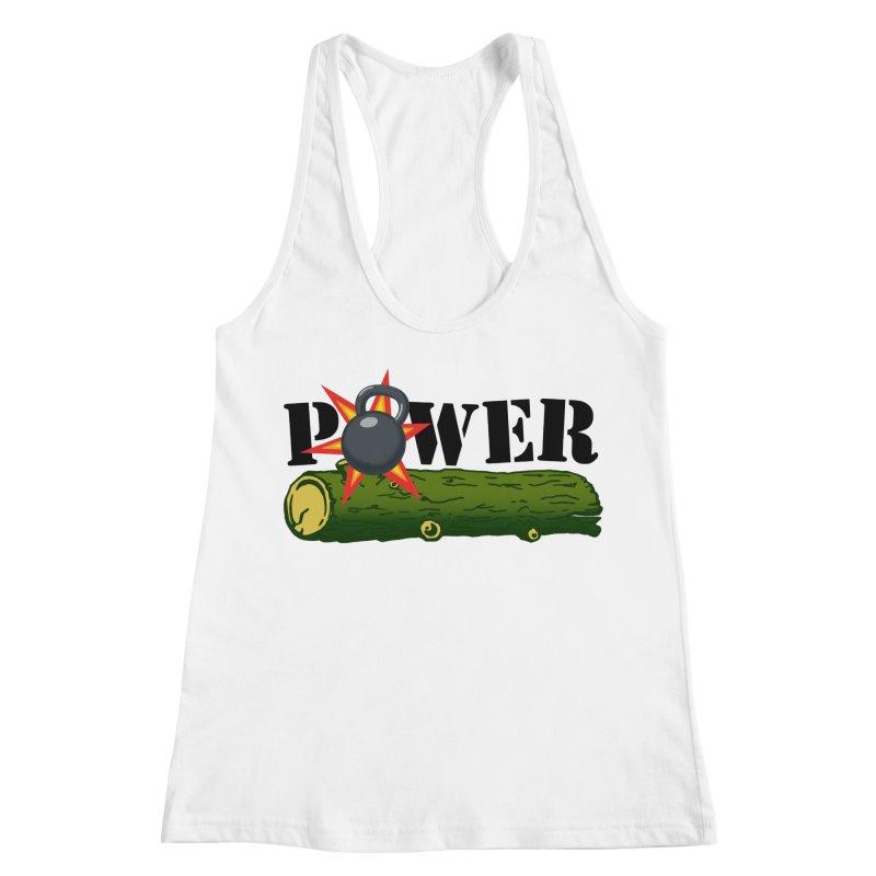Power Women's Racerback Tank by Power Artist Shop