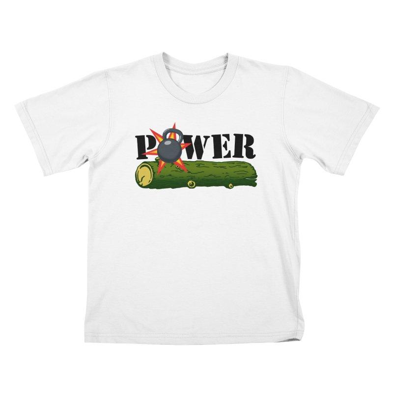Power Kids T-Shirt by Power Artist Shop