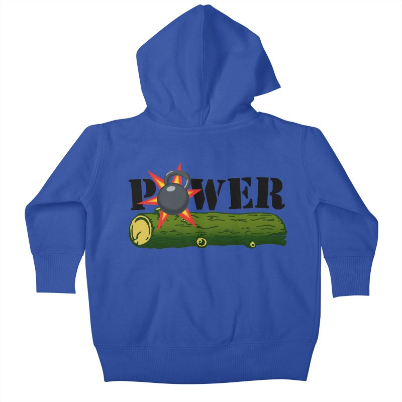 Power Kids Baby Zip-Up Hoody by Power Artist Shop