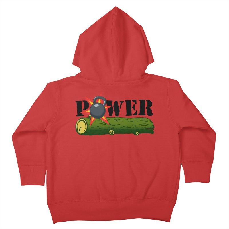 Power Kids Toddler Zip-Up Hoody by Power Artist Shop