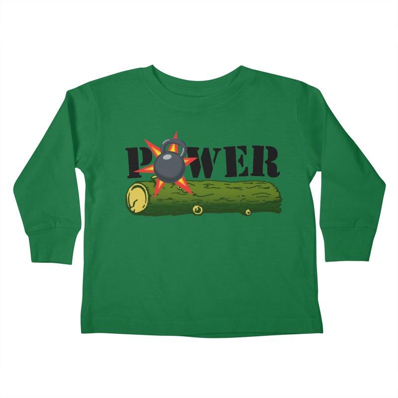 Power Kids Toddler Longsleeve T-Shirt by Power Artist Shop