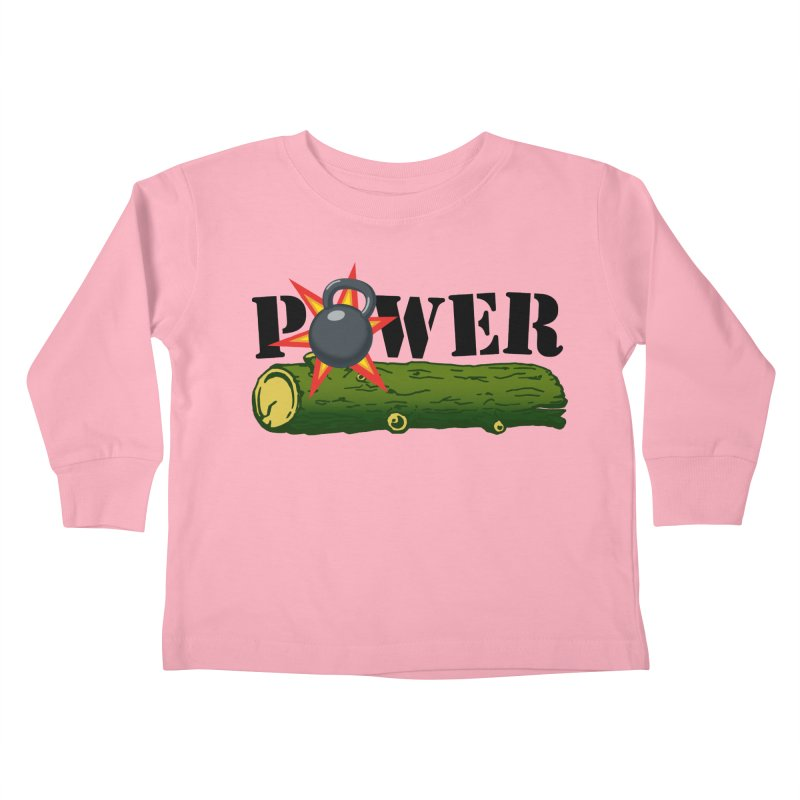 Power Kids Toddler Longsleeve T-Shirt by Power Artist Shop
