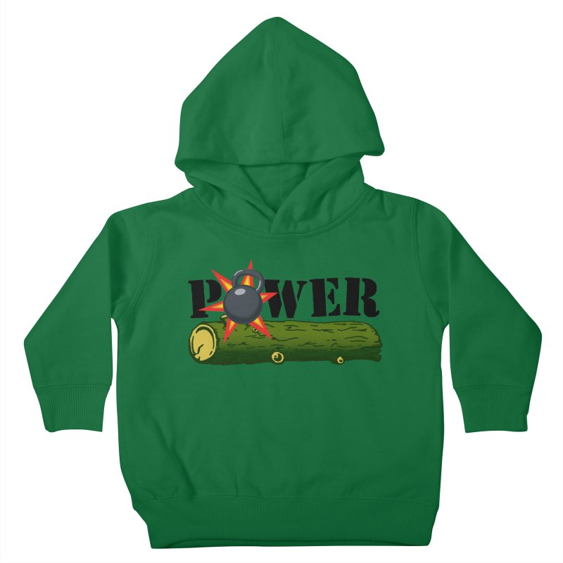 Power Kids Toddler Pullover Hoody by Power Artist Shop