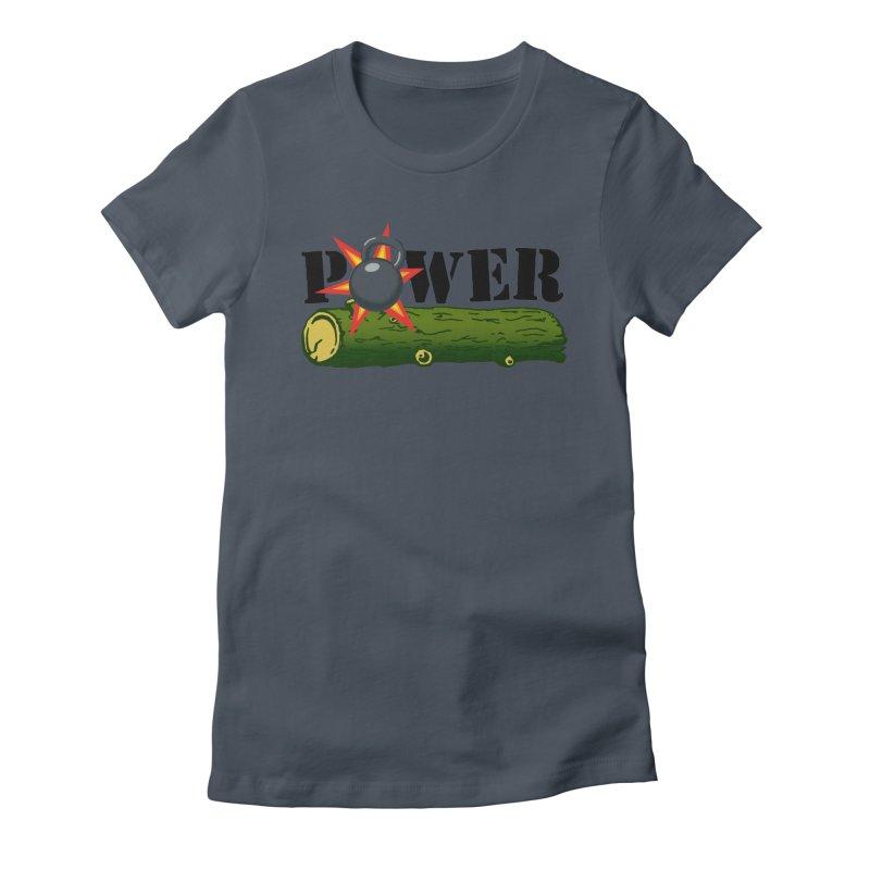 Power Women's T-Shirt by Power Artist Shop