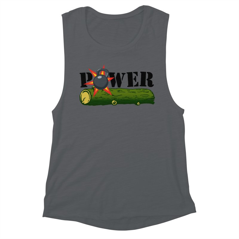 Power Women's Muscle Tank by Power Artist Shop