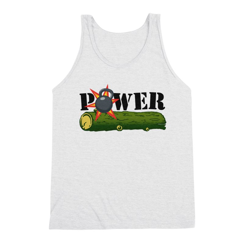 Power Men's Triblend Tank by Power Artist Shop