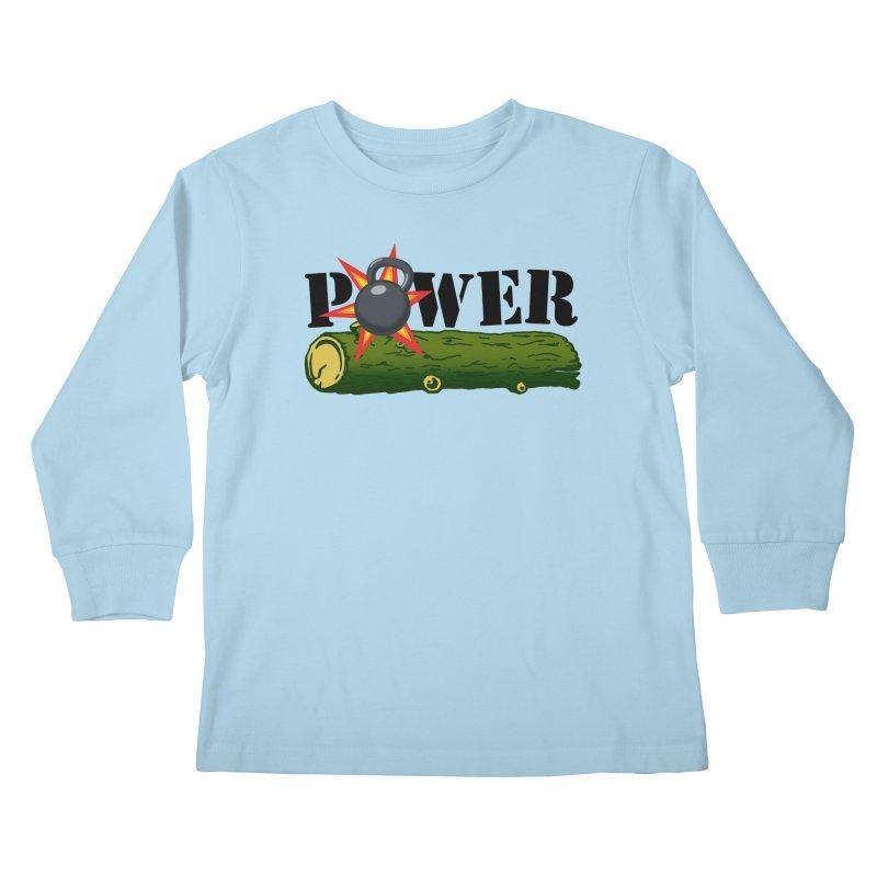 Power Kids Longsleeve T-Shirt by Power Artist Shop