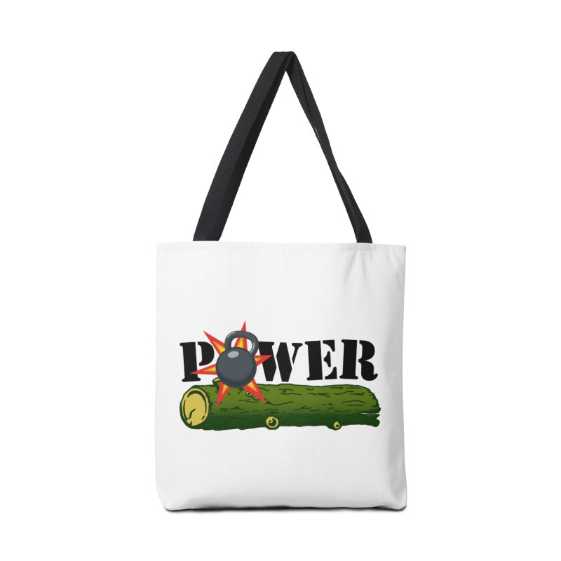 Power Accessories Tote Bag Bag by Power Artist Shop