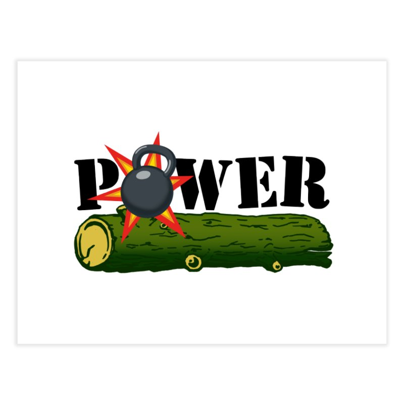 Power Home Fine Art Print by Power Artist Shop