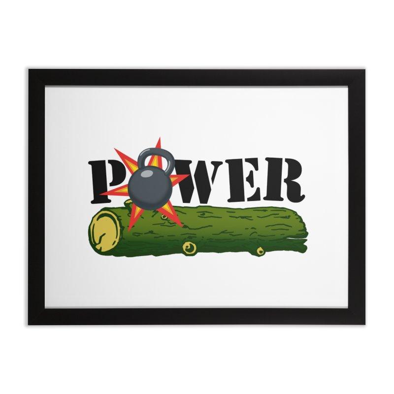Power Home Framed Fine Art Print by Power Artist Shop