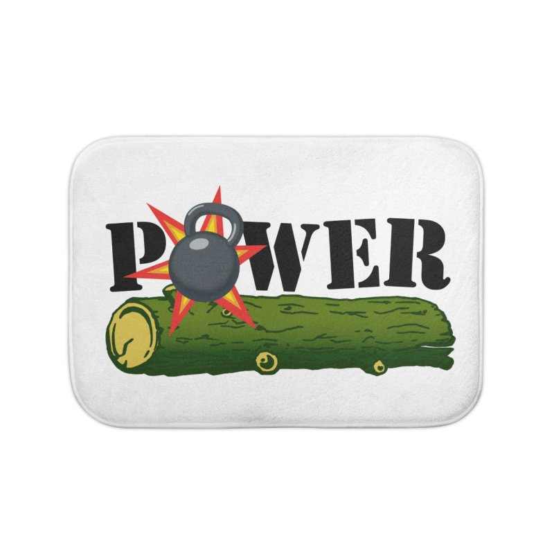 Power Home Bath Mat by Power Artist Shop