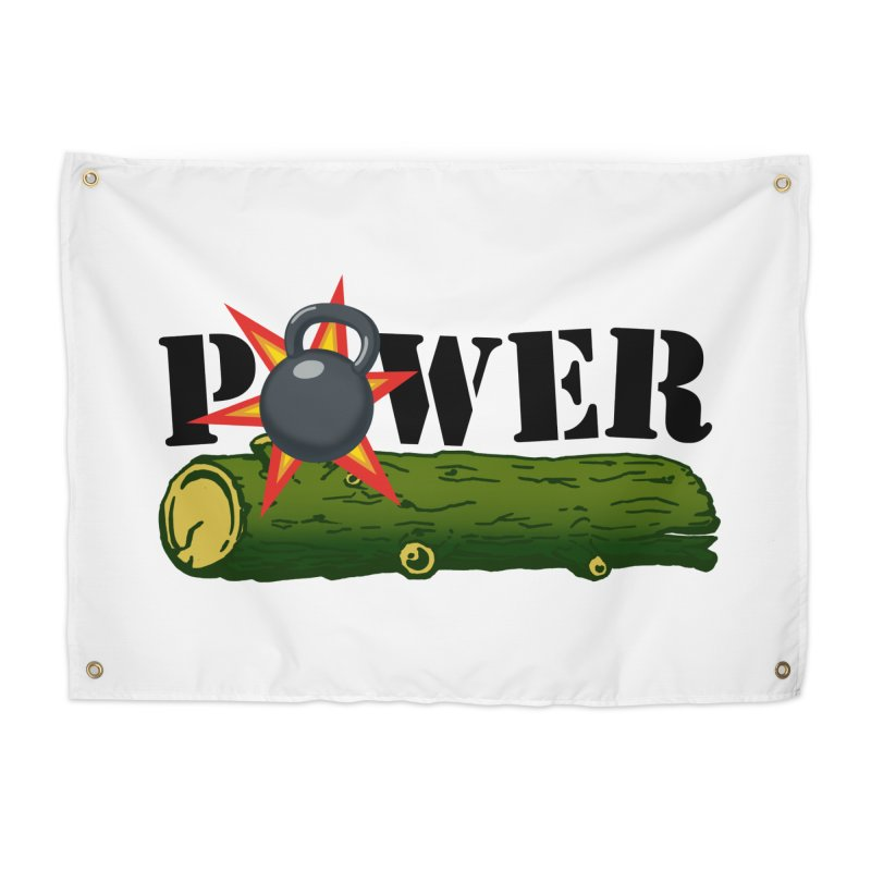 Power Home Tapestry by Power Artist Shop