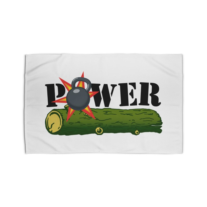 Power Home Rug by Power Artist Shop