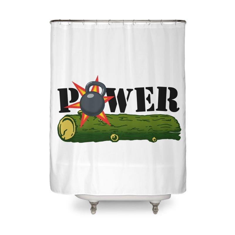 Power Home Shower Curtain by Power Artist Shop