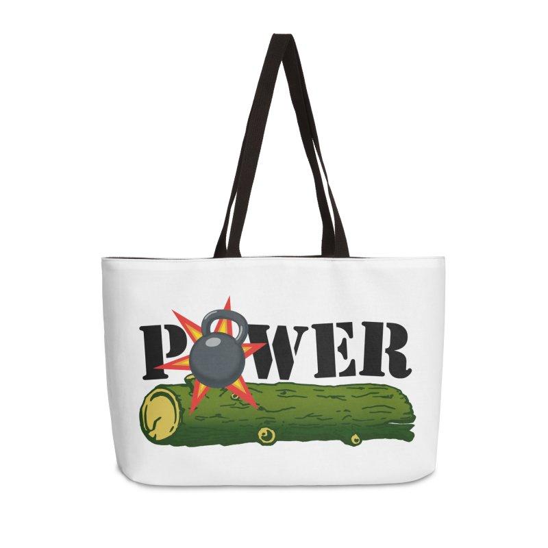 Power Accessories Weekender Bag Bag by Power Artist Shop