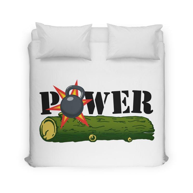 Power Home Duvet by Power Artist Shop