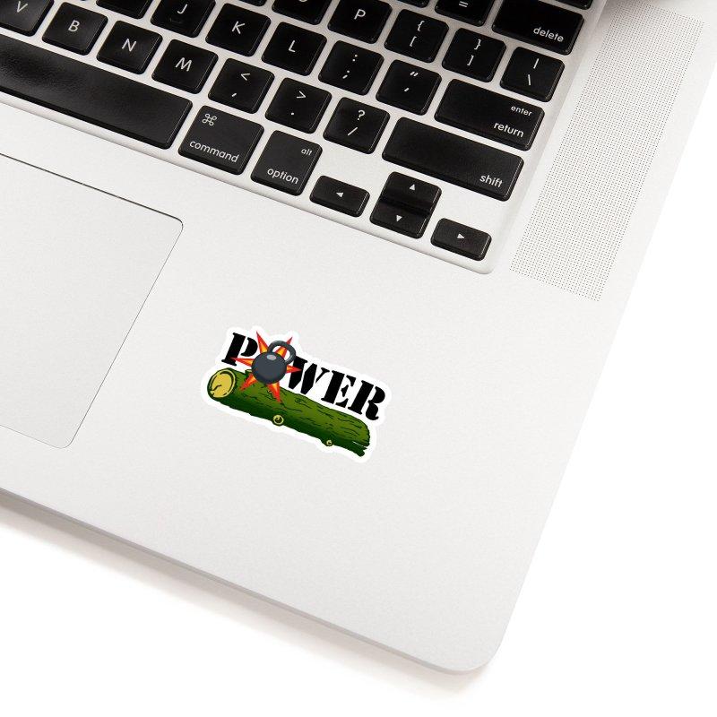 Power Accessories Sticker by Power Artist Shop