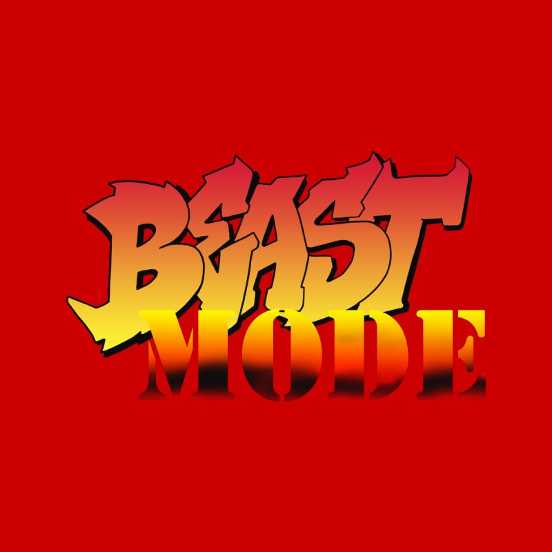 Beast Mode Men's T-Shirt by Power Artist Shop