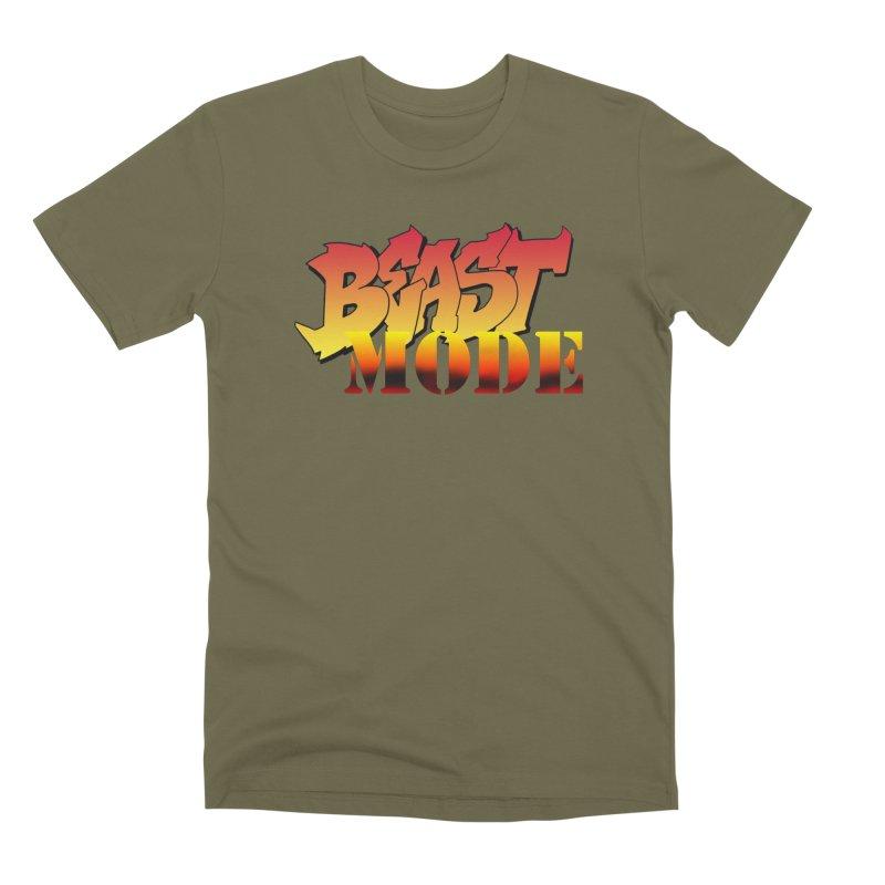 Beast Mode Men's Premium T-Shirt by Power Artist Shop
