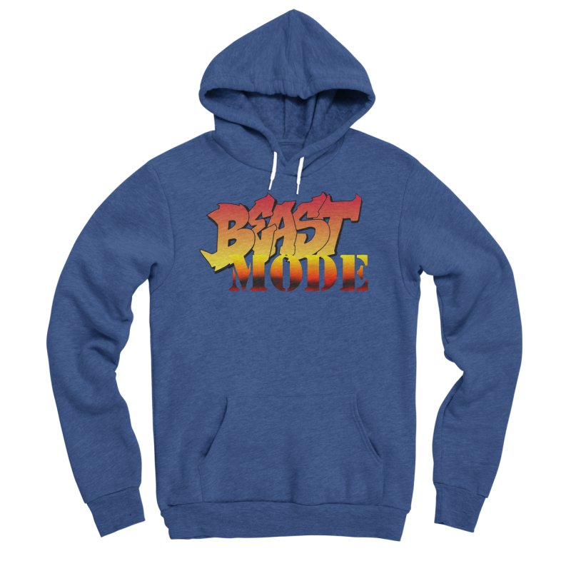 Beast Mode Men's Sponge Fleece Pullover Hoody by Power Artist Shop
