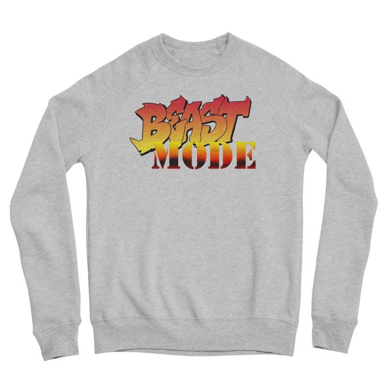 Beast Mode Men's Sponge Fleece Sweatshirt by Power Artist Shop