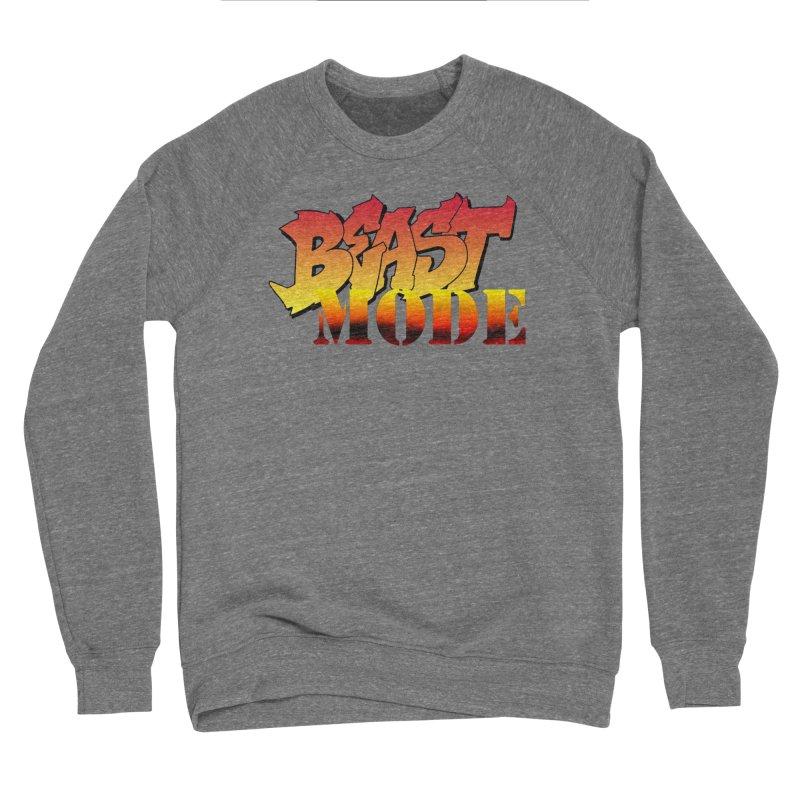 Beast Mode Women's Sponge Fleece Sweatshirt by Power Artist Shop