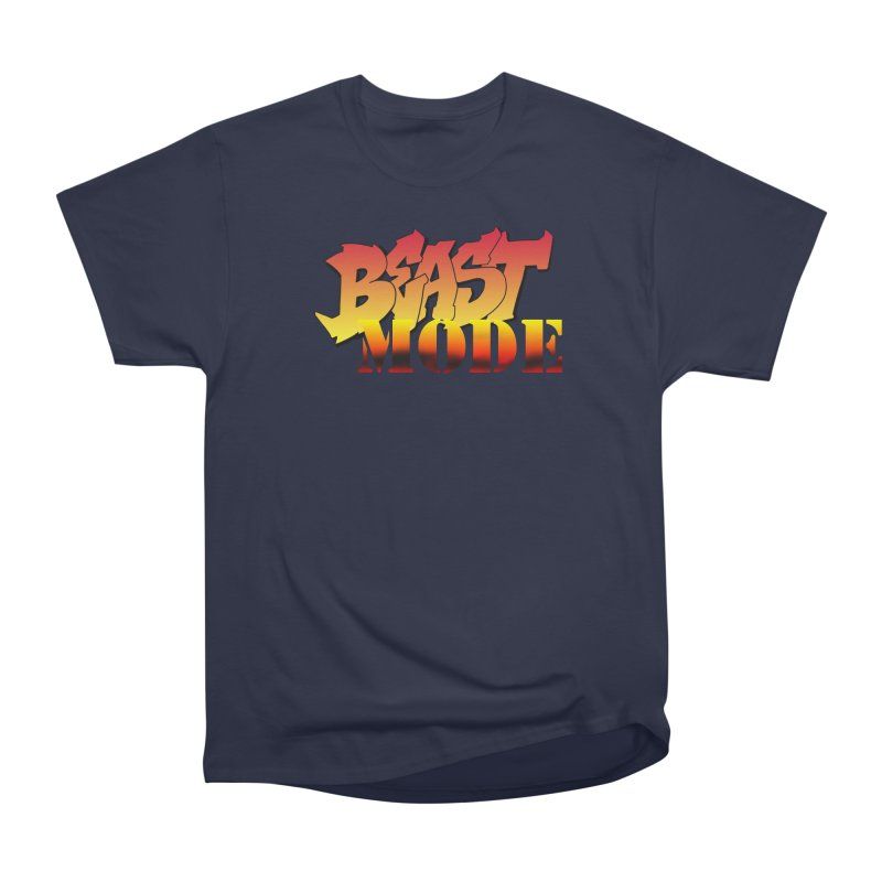 Beast Mode Men's Heavyweight T-Shirt by Power Artist Shop