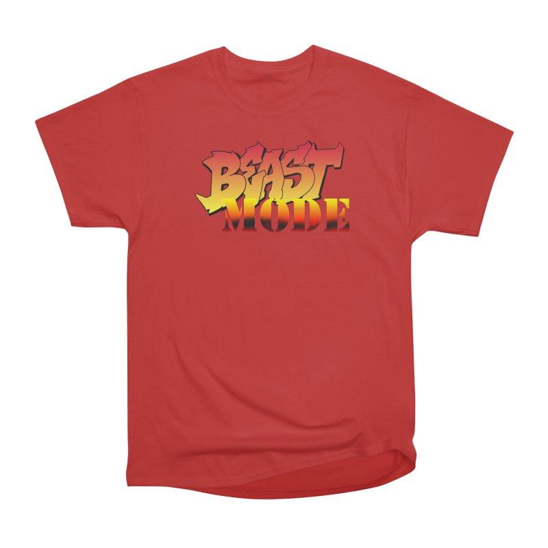 Beast Mode Men's Heavyweight T-Shirt by Power Artist Shop