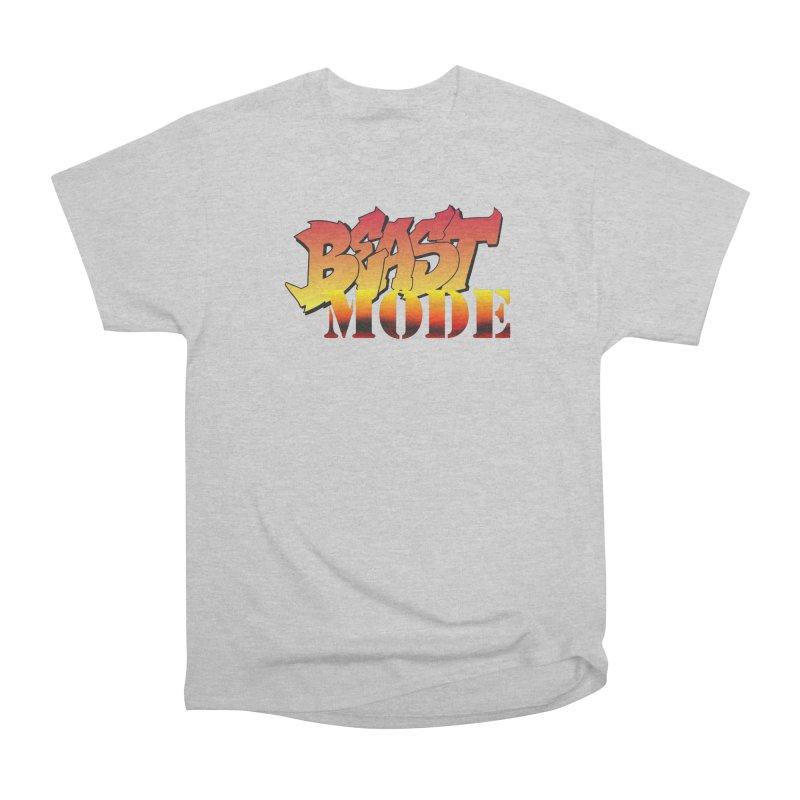 Beast Mode Men's T-Shirt by Power Artist Shop