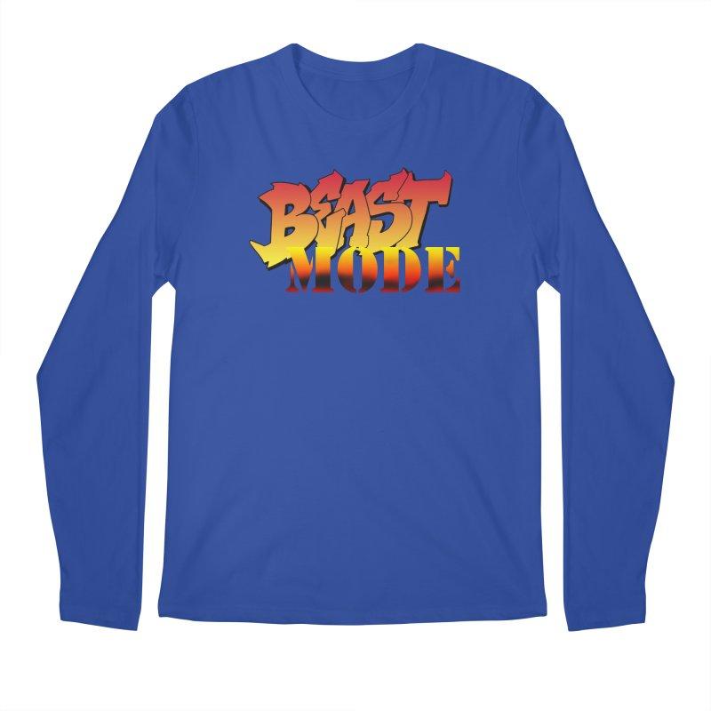 Beast Mode Men's Regular Longsleeve T-Shirt by Power Artist Shop