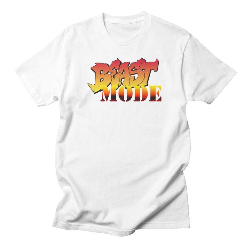 Beast Mode Men's Regular T-Shirt by Power Artist Shop