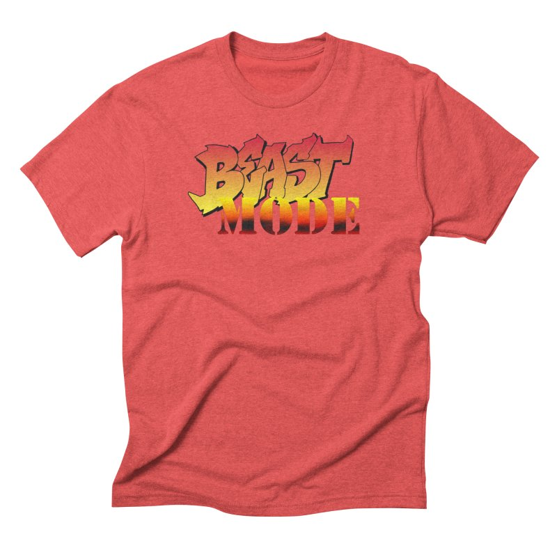 Beast Mode Men's Triblend T-Shirt by Power Artist Shop