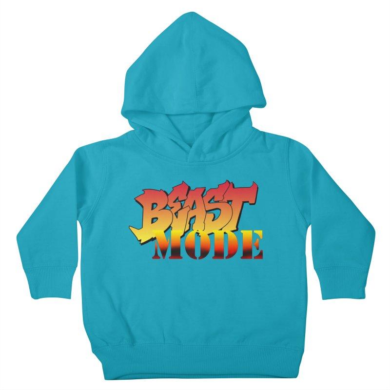 Beast Mode Kids Toddler Pullover Hoody by Power Artist Shop