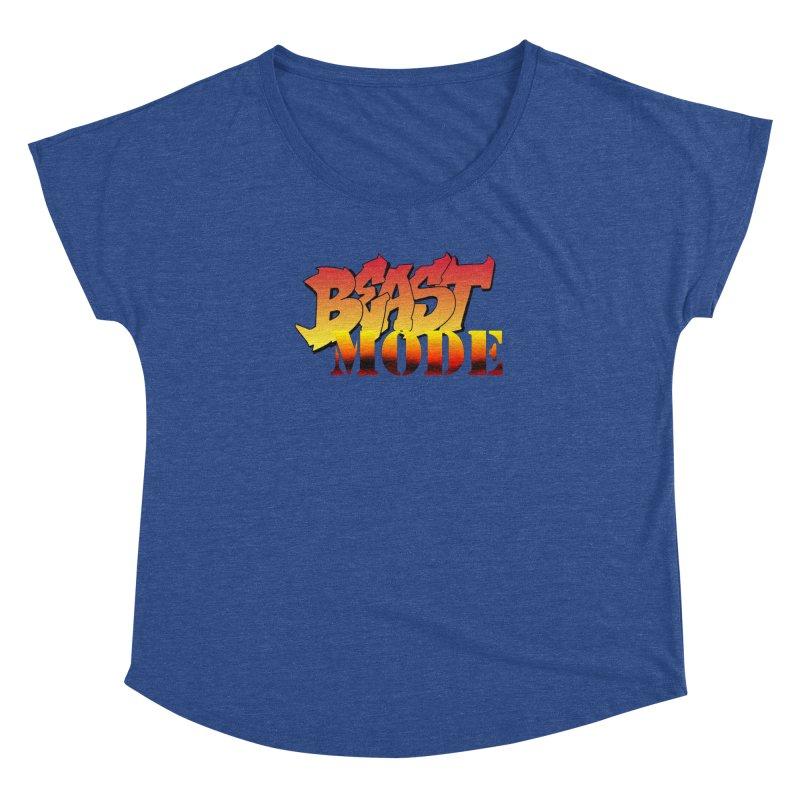 Beast Mode Women's Dolman Scoop Neck by Power Artist Shop