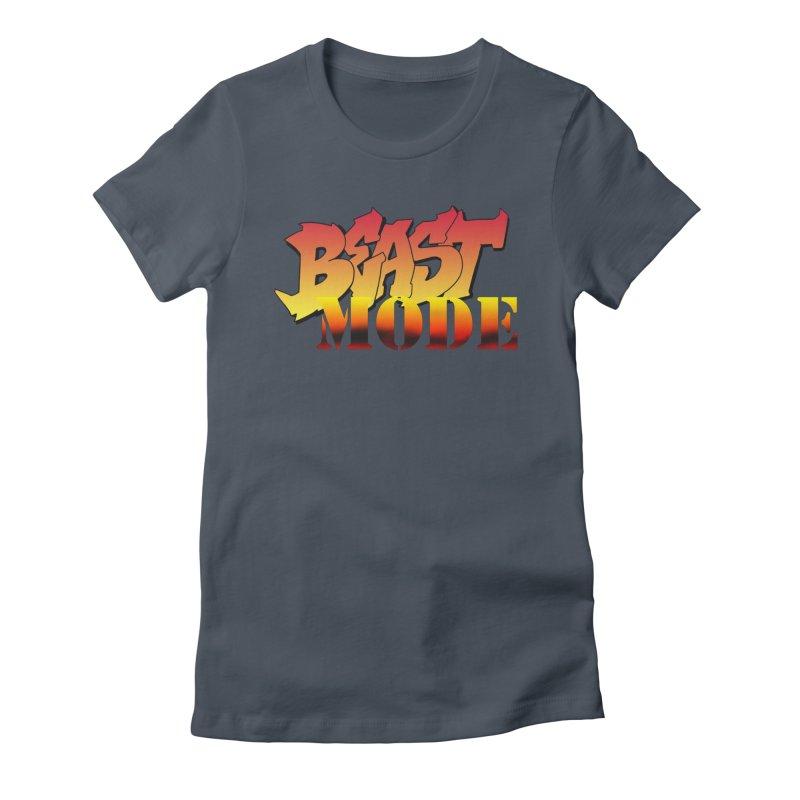 Beast Mode Women's T-Shirt by Power Artist Shop