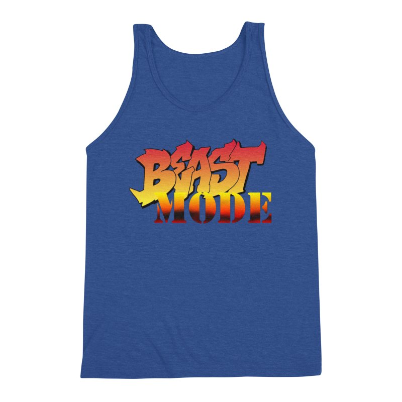 Beast Mode Men's Tank by Power Artist Shop