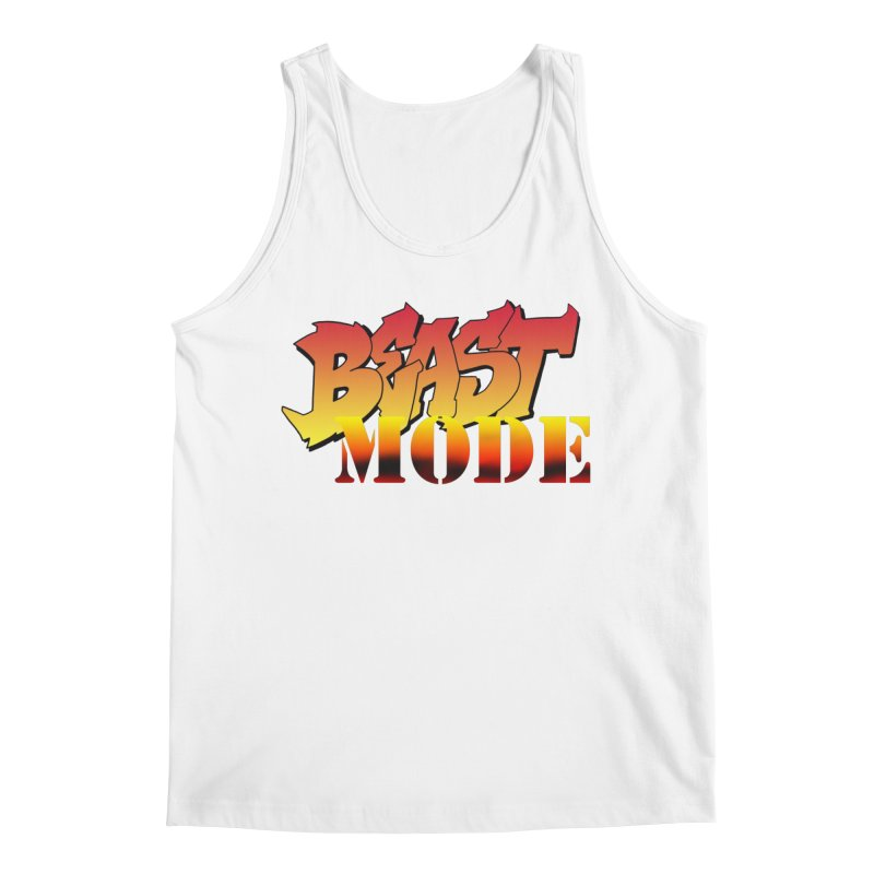 Beast Mode Men's Regular Tank by Power Artist Shop