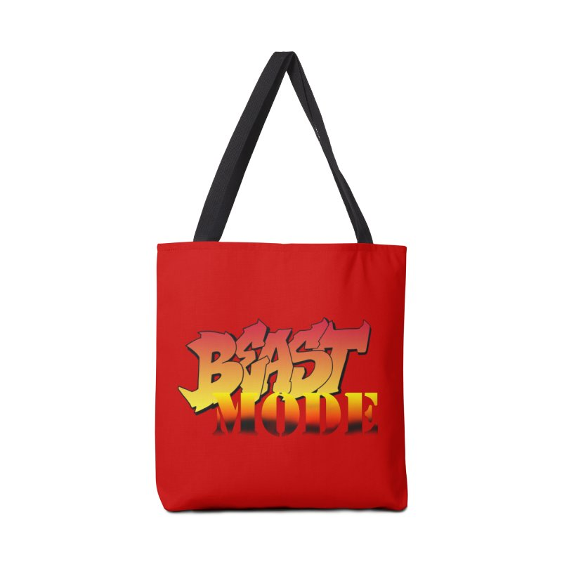Beast Mode Accessories Tote Bag Bag by Power Artist Shop