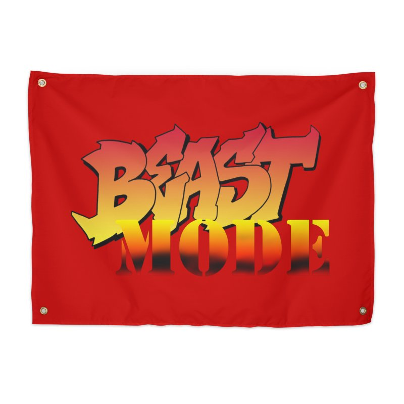 Beast Mode Home Tapestry by Power Artist Shop