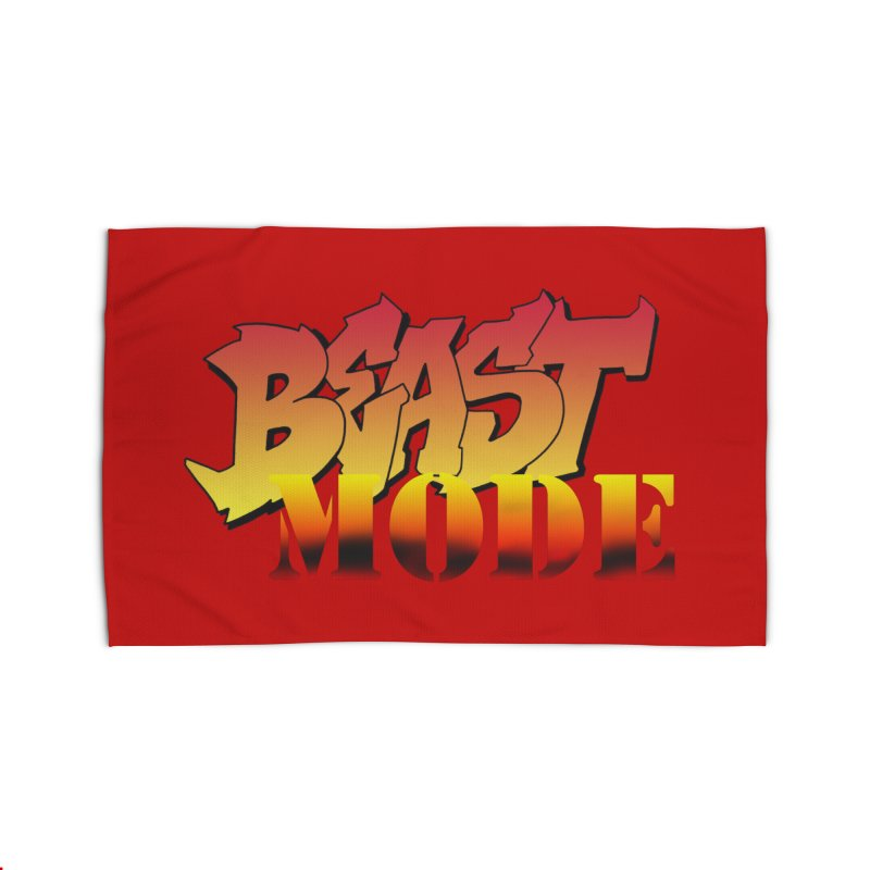 Beast Mode Home Rug by Power Artist Shop