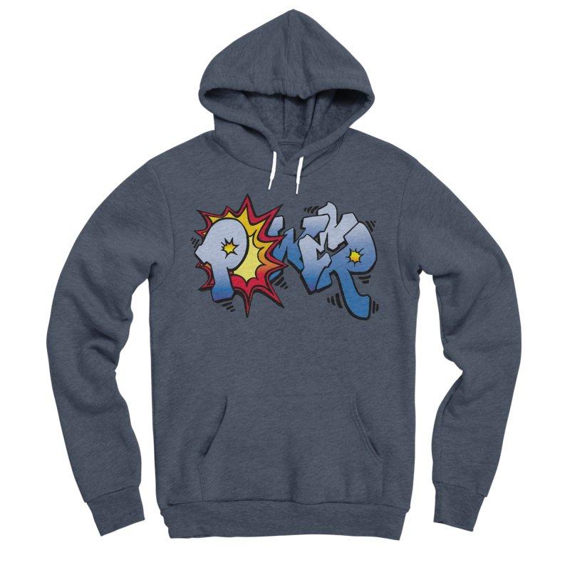 Explosive Power! Men's Sponge Fleece Pullover Hoody by Power Artist Shop