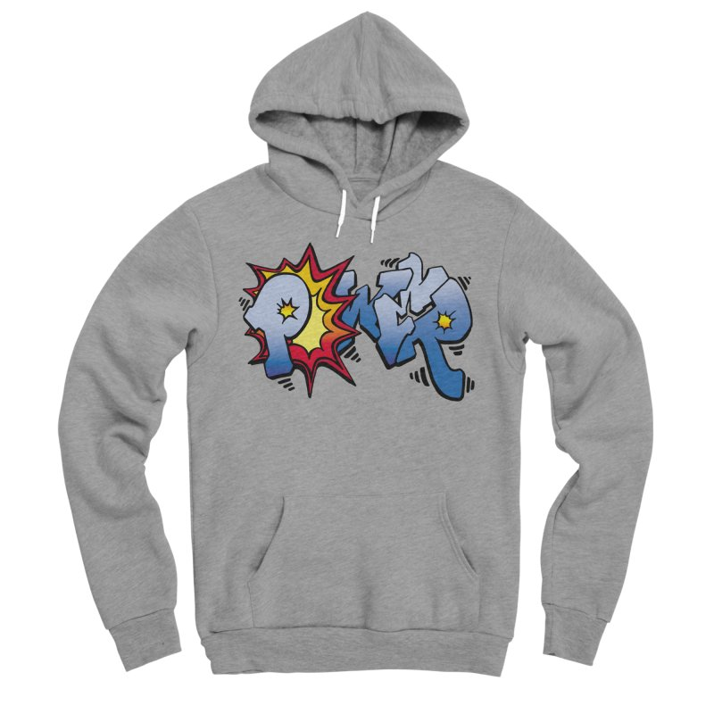 Explosive Power! Men's Sponge Fleece Pullover Hoody by Power Artist Shop