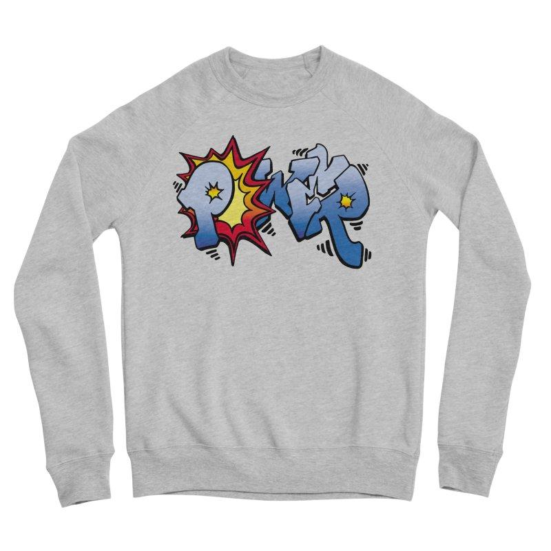 Explosive Power! Women's Sponge Fleece Sweatshirt by Power Artist Shop