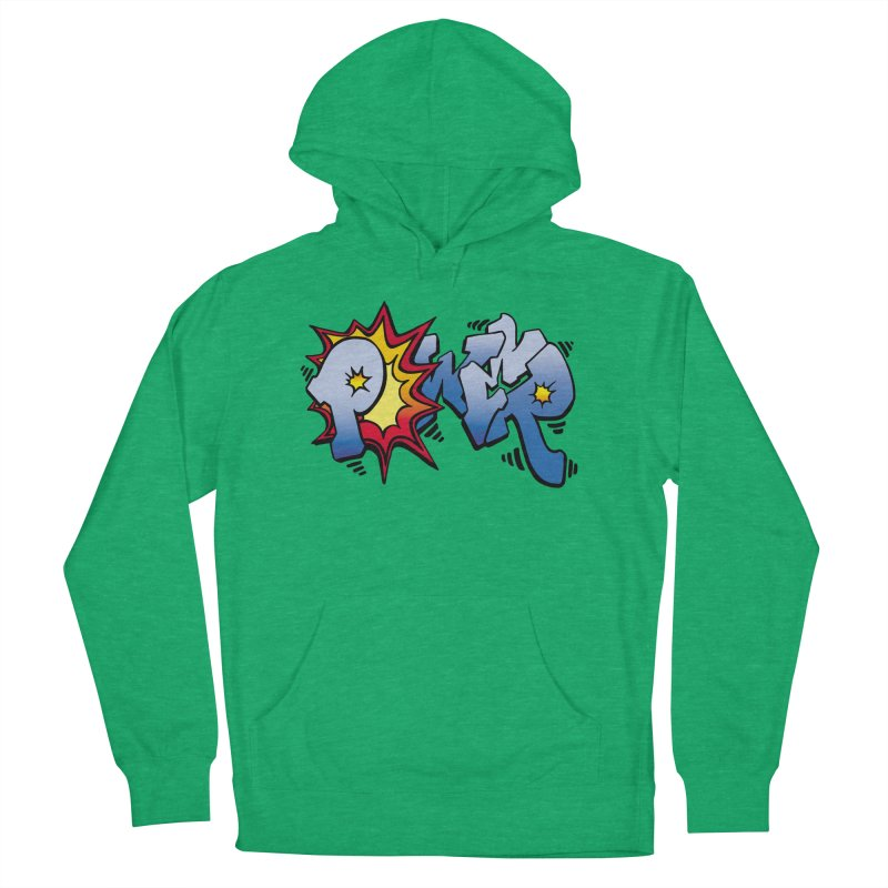 Explosive Power! Men's French Terry Pullover Hoody by Power Artist Shop