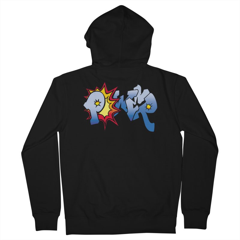 Explosive Power! Women's French Terry Zip-Up Hoody by Power Artist Shop